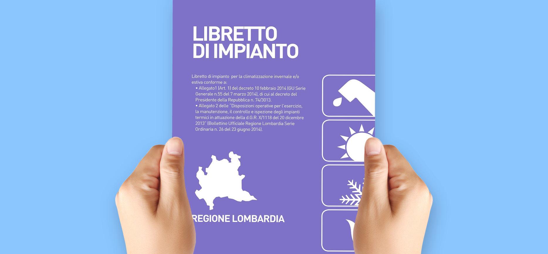 Libretto di impianto - regione lombardia