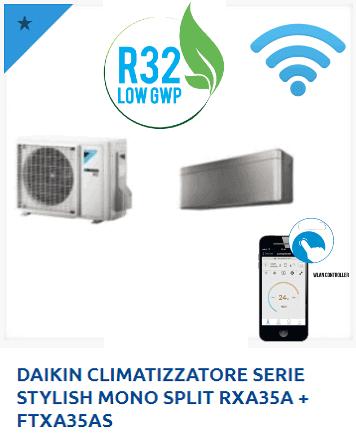 DAIKIN-CLIMATIZZATORE-SERIE-STYLISH-MONO-SPLIT-RXA35A-FTXA35AS