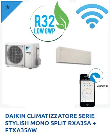 DAIKIN-CLIMATIZZATORE-SERIE-STYLISH-MONO-SPLIT-RXA35A-FTXA35AW