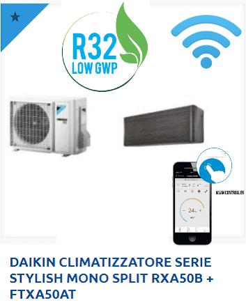 DAIKIN-CLIMATIZZATORE-SERIE-STYLISH-MONO-SPLIT-RXA50B-FTXA50AT