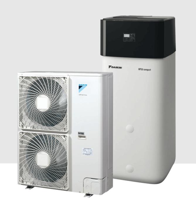 Daikin Altherma R ECH2O in R410A, 16 kW
